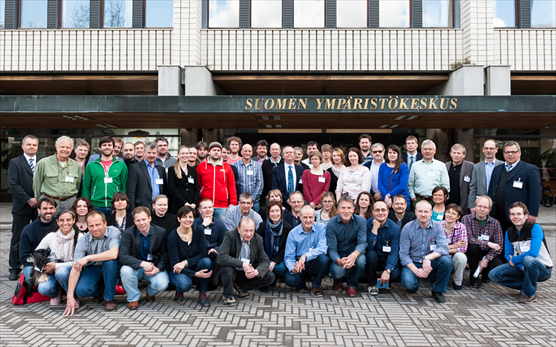 Photo: participants of the 5th Ferrybox Workshop 2013