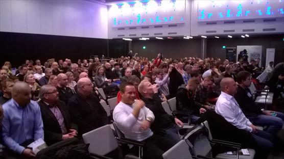 Wreck Diving Day: more than 300 experts and professional divers were participating the Bonus SWERA Final Seminar at the Helsinki Exhibition Centre
