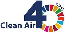 UNECE Clean Air 40 logo