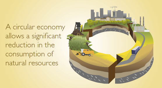 SYKE Policy Brief: A circular economy allows a significant reduction in the consumption of natural resources (556)